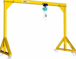 1 ton gantry crane for sale with the best price.