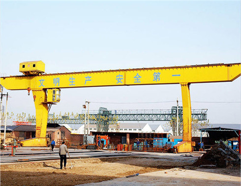 100 ton gantry crane in L type
