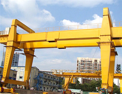 100 ton gantry crane for sale in U type