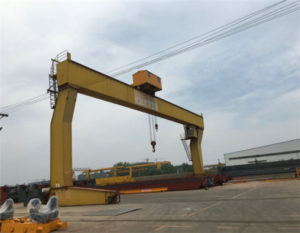 L type 12 ton gantry crane for sale