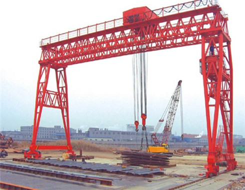 20 ton semi gantry crane for sale