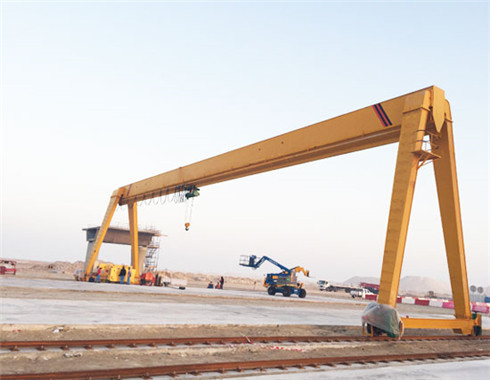25 ton single girder gantry crane for sale.