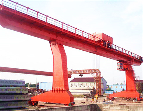 L type 50 ton gantry crane for sale with the best price.
