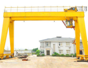 Rail mounted 50 ton gantry crane for sale