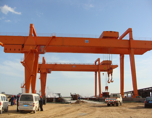 double girder 15 ton gantry cranes are supplied in our group.