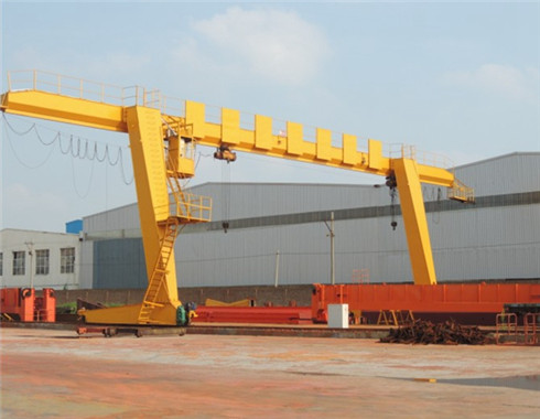 L type 4 ton agntry crane for customers
