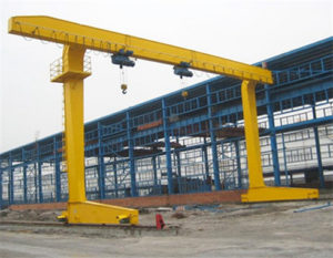 L type ligth ddty gantry crane for sale
