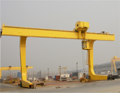 L type singlr girder gantry crane for sale