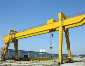 Double girder 6 ton gantry crane for sale.