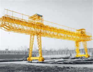 You can get the high quality double girder gantry crane from us.