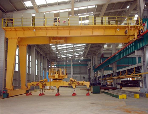 Semi heavy duty gantry crane for sale with the best price and reliable quality.
