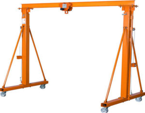 high quality 2 ton gantry crane for sale
