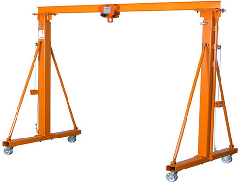 Portable light duty gantry crane for sale