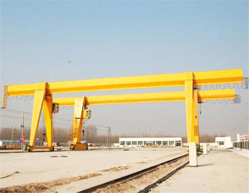 Light duty rail mounted agntry crane for sale