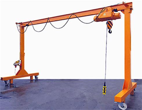 Movable 4 ton gantry crane for sale