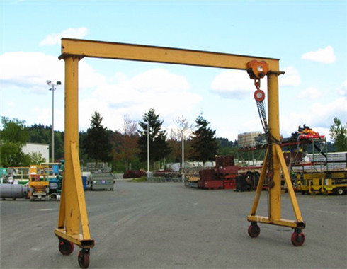 single girder 5 ton gantry crane for sale