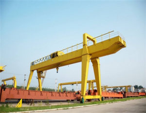 Customers can get high quality double girder gantry crane.