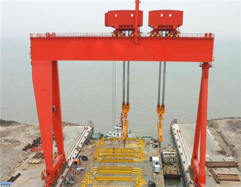 Rail mounted agntry crane for sale with the besy price and reliable quality.