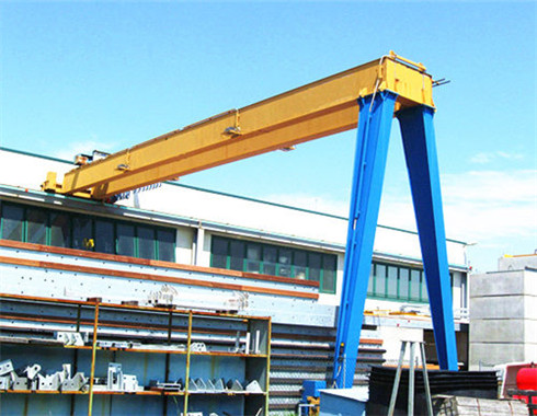 semi gantry crane for sale with the best price.