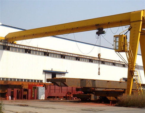 semi single girder gantry crane for sale.