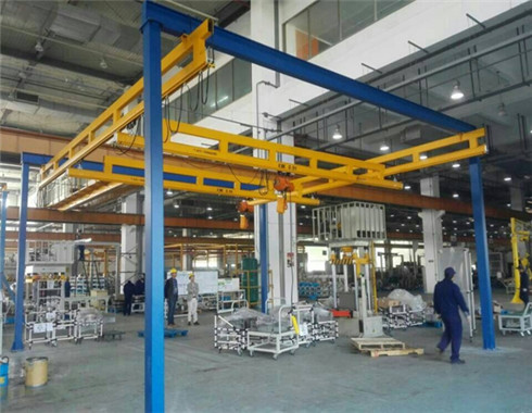 2 ton gantry crane for customers.