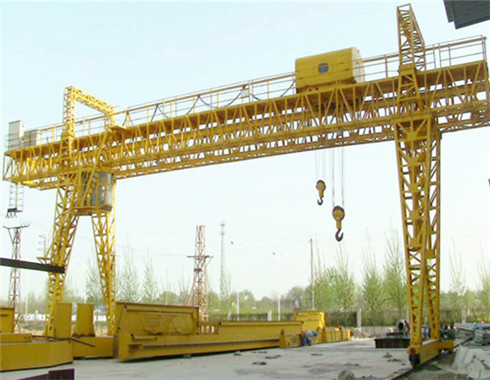 truss 100 ton gantry crane for sale