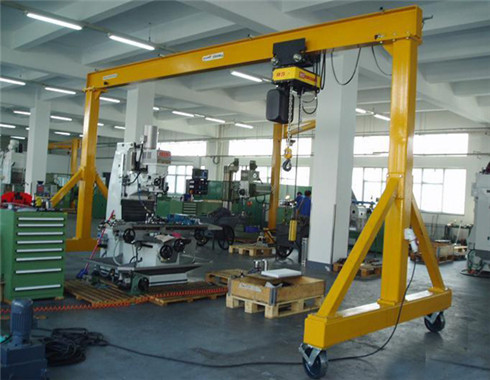 2 ton workshop gantry crane for sale