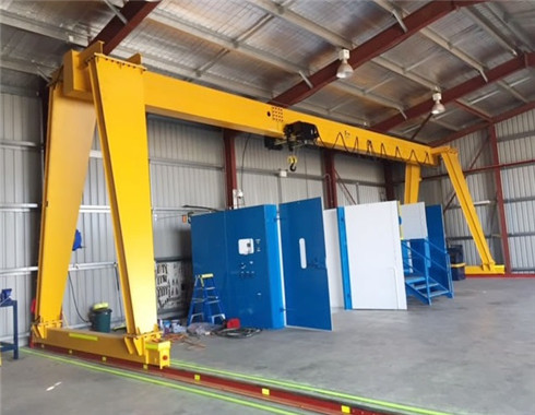 european style workshop gantry crane