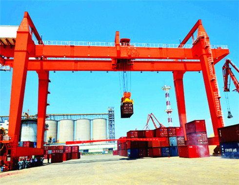 container gantry crane for sale