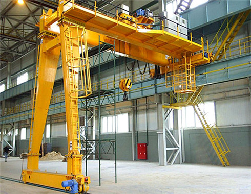 Workshop gantry cranes can be supplied in our group.