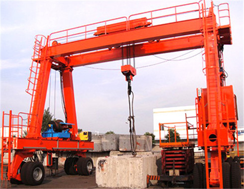 rubber tyred gantry crane for sale