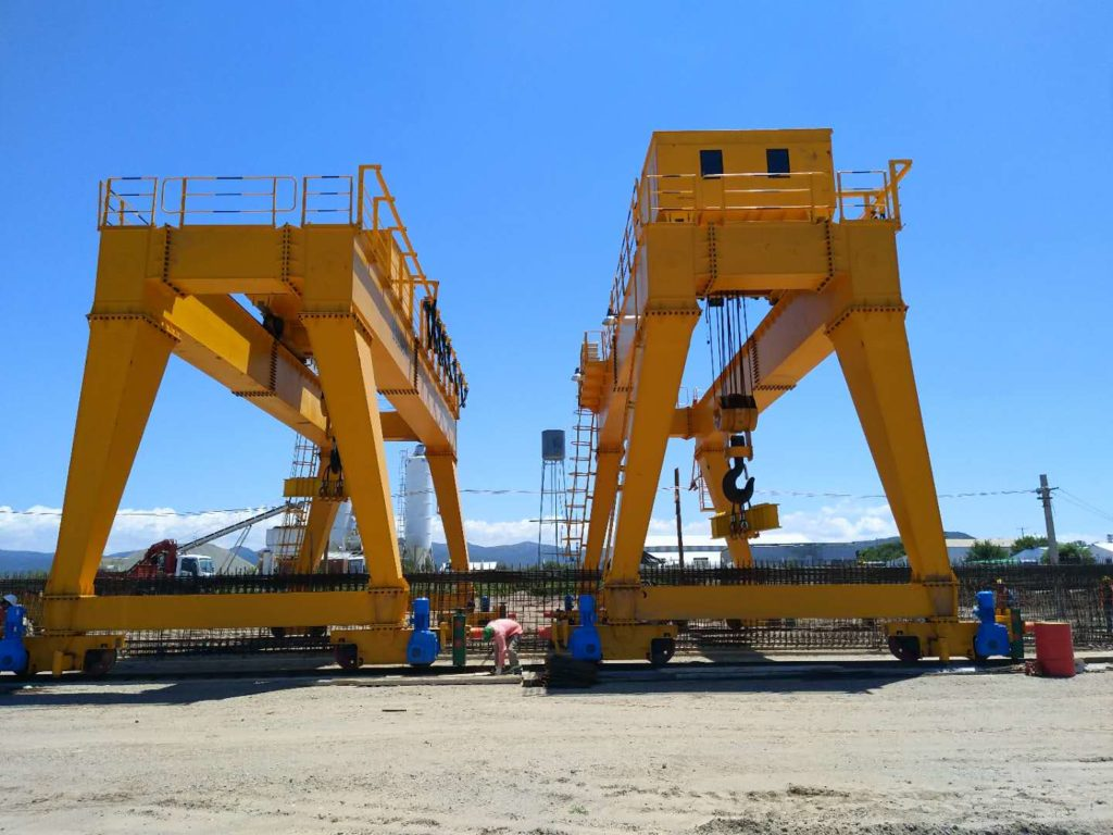 gantry cranes have high quality and reasonable price.