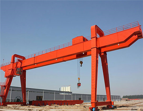 electric gantry crane in double girder fpr sale
