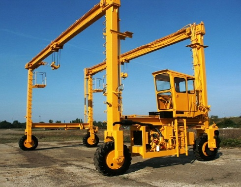 mobile double girder gantry crane for sale