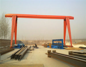 Single Girder Electric Gantry Crane Manufacturer