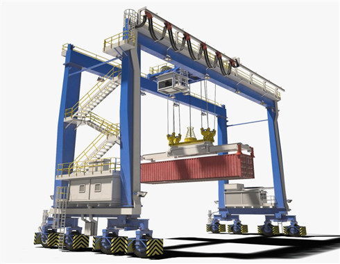 electric gantry crane for sale in high quality