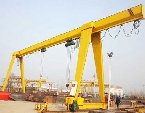 mobile single girder gantry crane for sale
