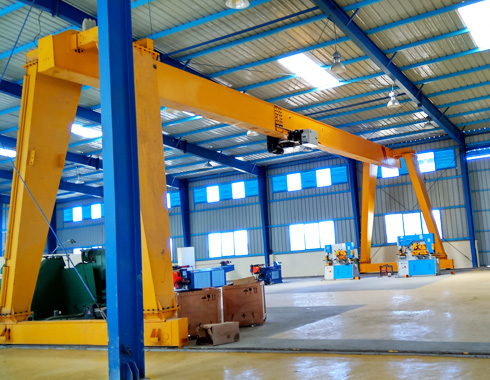 Single Girder A Frame Gantry Crane