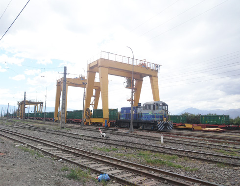 Double Girder Gantry Crane for Railway