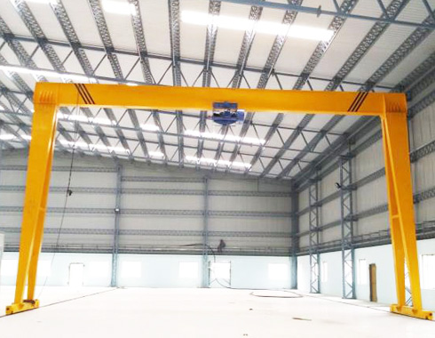 Single Girder Industrial Gantry Crane