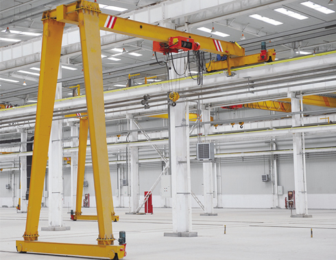 5t Semi Gantry Crane for Sale