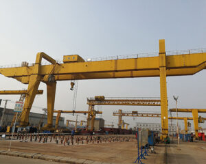 Double Girder 30 Ton Gantry Crane for Sale