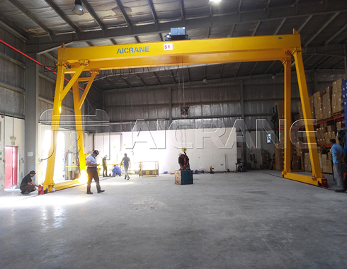 Double Girder 5 Ton Gantry Crane for Sale