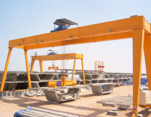 Double Girder Gantry Crane 12T Prices