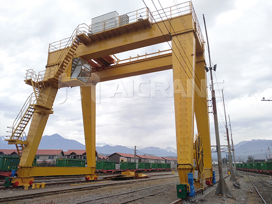 AQ-MG Double Girder Gantry Crane Manufacturer