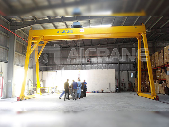 Gantry Crane Installation And Commissioning