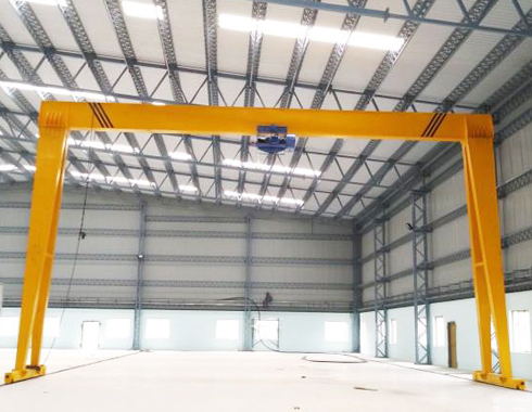 Single Girder Gantry Crane 5 Ton Manufacturer