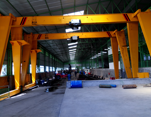 European Standard Single Girder Crane Supplier