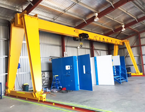 Gantry Crane With European Type Electric Hoist