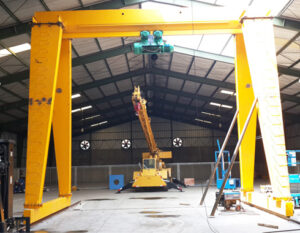 Light Duty Gantry Crane for Sale